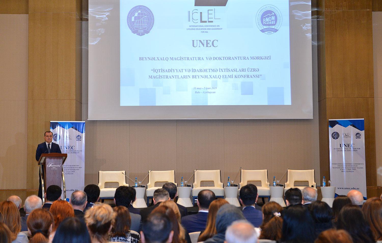 Bakıda magistrların beynəlxalq elmi konfransının açılış tədbiri baş tutmuşdur.